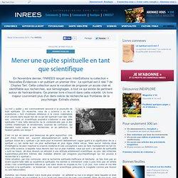 16/11/10 Mener une quête spirituelle en tant que scientifique