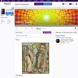 Spiritus Mundi - Yahoo Groups