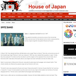 Spitz Band | Music | House of Japan - Japan News Technology Autos Culture Life Style