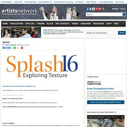Splash Watercolor | The finest watercolor paintings being created today...
