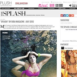 """Splash"" by Biba Magazine"