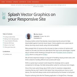 Splash Vector Graphics on your Responsive Site - HTML5 Rocks