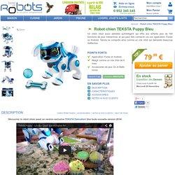 Robot Chien Splash Toys TEKSTA Puppy bleu - BestofRobots