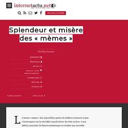 """Splendeur et misère des """"mèmes"""""""