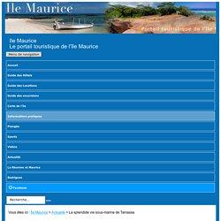 Vie sous-marine de Tamassa (hotel) - île Maurice