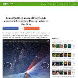 Les splendides images finalistes du concours Astronomy Photographer of the Year