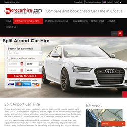 Split Airport Car Rental
