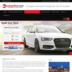 Car Hire Split Croatia