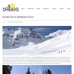 Guided Ski And Splitboard Tours In Kyrgyzstan's Tien Shan Mountains