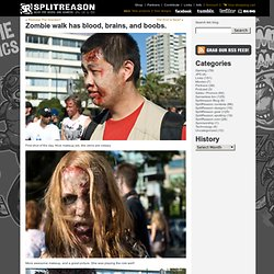 blog » Blog Archive » Zombie walk has blood, brains, and boobs.