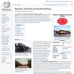 Wiki: Spokane, Portland and Seattle Railway