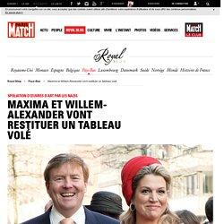 Spoliation d'œuvres d'art par les Nazis - Maxima et Willem-Alexander vont restituer un tableau volé