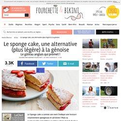 Le sponge cake, une alternative (plus légère) à la génoise