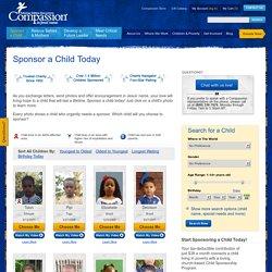 Sponsor a Child - Sponsoring a Child
