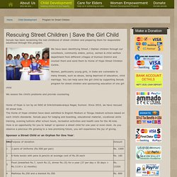 Sponsor a Street Child for One Year