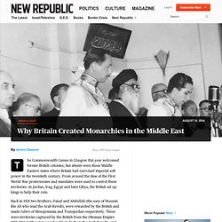 British-Sponsored Hashemite Kingdom Was Iraq's Most Stable Period