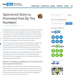 Sponsored Story vs. Promoted Post By The Numbers