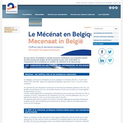 Mécénat et sponsoring en Belgique - Promethea