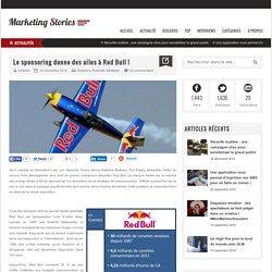 Le sponsoring donne des ailes à Red Bull