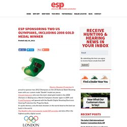 ESP sponsoring two US Olympians, including 2008 gold medal winner