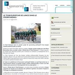 le team europcar se lance dans le sponsoring participatif