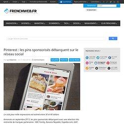 Pinterest : les pins sponsorisés débarquent sur le réseau social