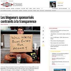 Les blogueurs sponsoris s contraints la transparence