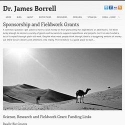 Sponsorship & Fieldwork Grants