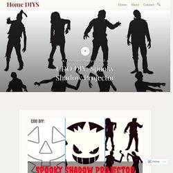 CDO DIY: Spooky Shadow Projector – Home DIYS