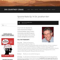 Spoonie Radio Ep 14: Dr. Jonathan Kerr