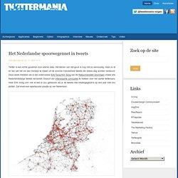Het Nederlandse spoorwegennet in tweets