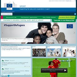 Europen Commission for Sport -EU programme for education, training, youth and sport
