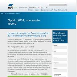 Sport : 2014, une année record - npdgroup.fr