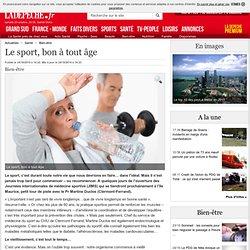Le sport, bon à tout âge - 24/10/2014