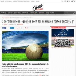 Sport business : quelles sont les marques fortes en 2015 ?