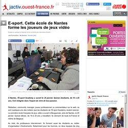 E-sport. Cette école de Nantes forme les joueurs de jeux vidéo
