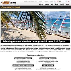BIC Sport - Développement durable