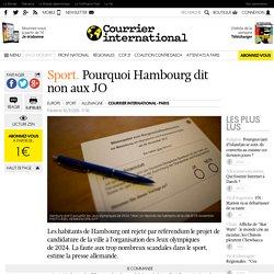 Sport. Pourquoi Hambourg dit non aux JO