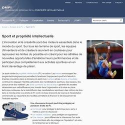 Sport et propriété intellectuelle