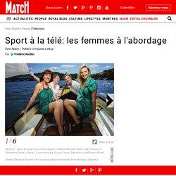 Sport à la télé: les femmes à l'abordage