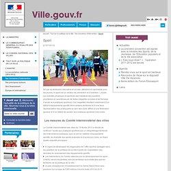 Sport - Ville.gouv.fr - Ministère de la Ville