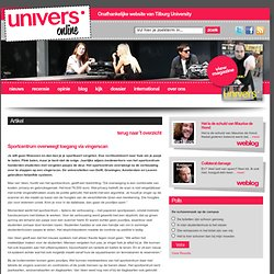 univers: Sportcentrum overweegt toegang via vingerscan
