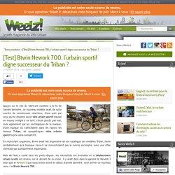 Btwin Nework 700, l'urbain sportif digne successeur du Triban ?, Weelz.fr le web magazine du Vélo Urbain