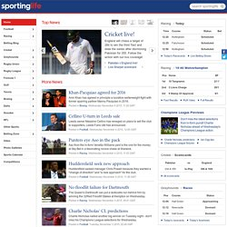 Sporting Life - Sports News | Live Football Scores, Live Racing Results, Football Transfer News