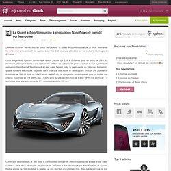 La Quant e-Sportlimousine à propulsion Nanoflowcell bientôt sur les routes