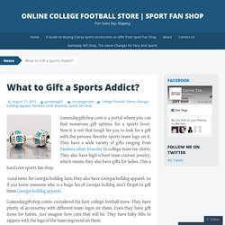 Online College Football Store