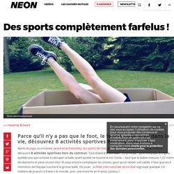 Des sports complètement farfelus ! – NEON