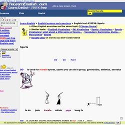 Sports-English