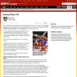 Sports Guy: Ewing Theory 101 - ESPN Page 2