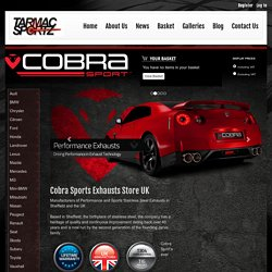 Cobra Sports Exhausts UK